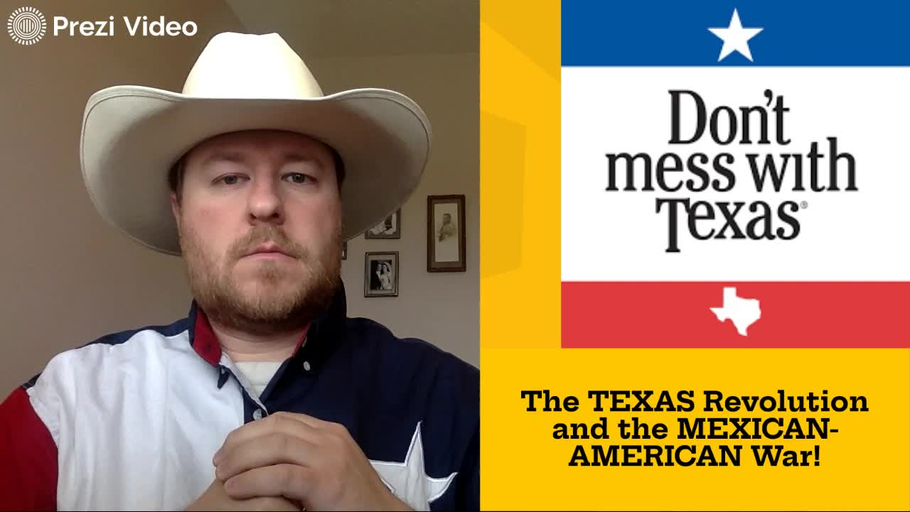 The Texas Revolution and the Mexican-American War